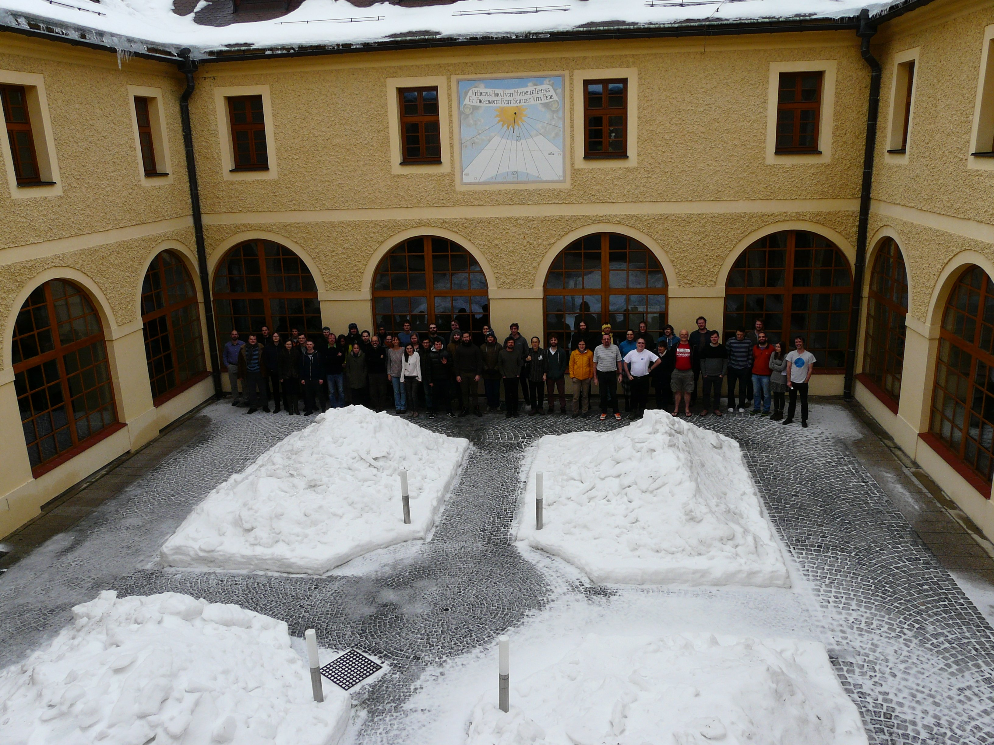 photos from the winter schools by participants