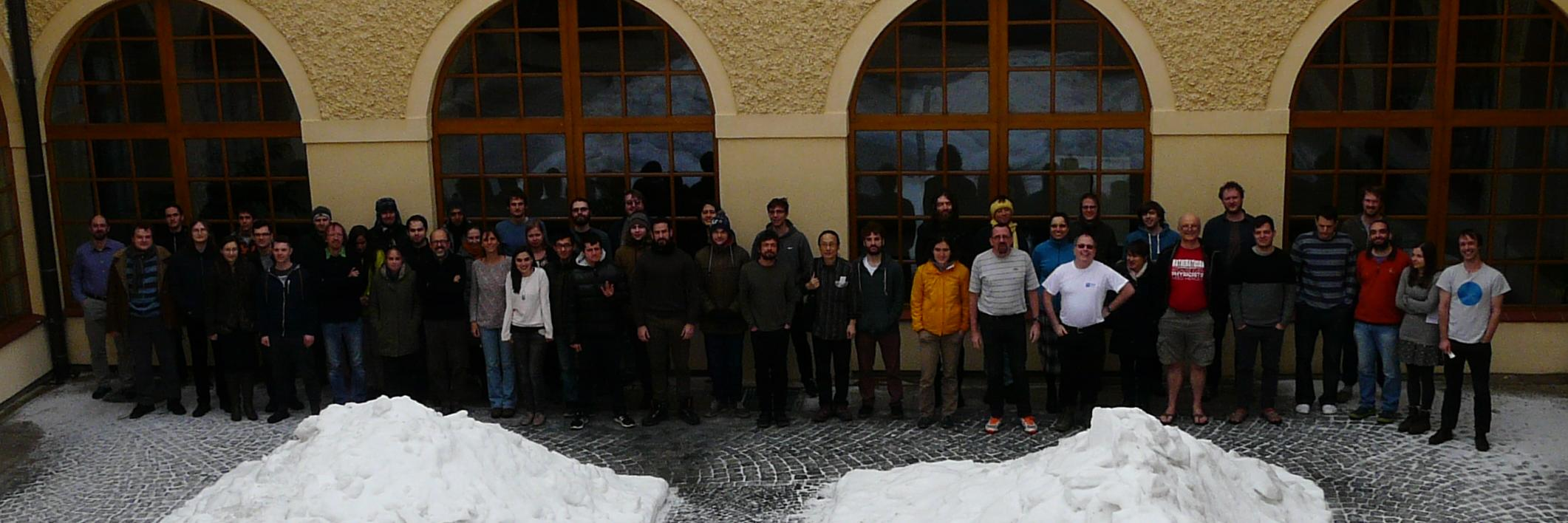 Group photo of the participants of the WS 2017